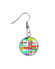 Psychedelic Circle Earrings tile