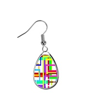 Psychedelic Teardrop Earrings thumbnail