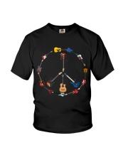 Guitar Hippie Youth T-Shirt thumbnail