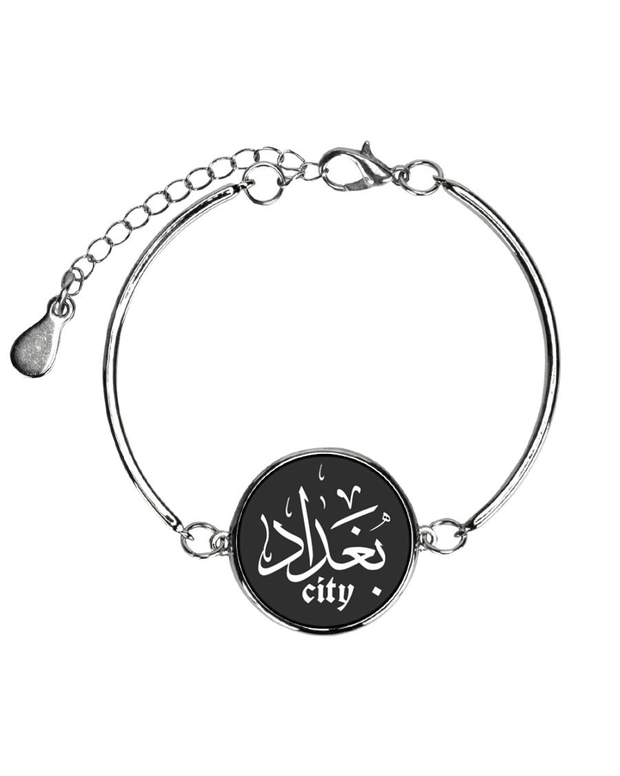 baghdad  Metallic Circle Bracelet