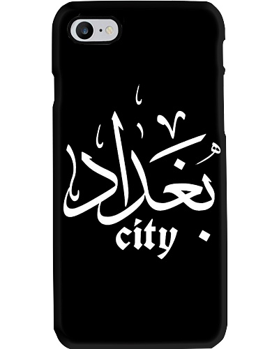 baghdad city  phone case