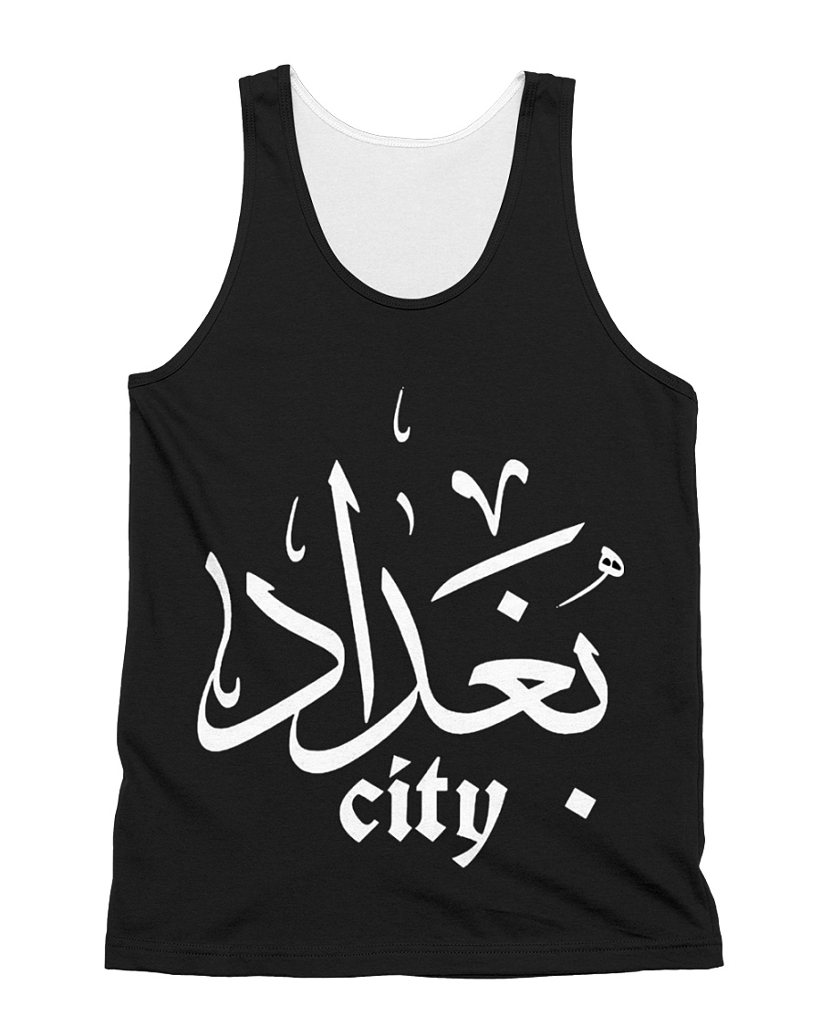 baghdad city All-over Unisex Tank