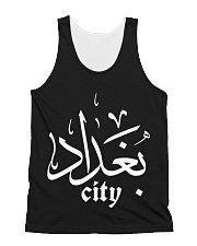 baghdad city All-over Unisex Tank front