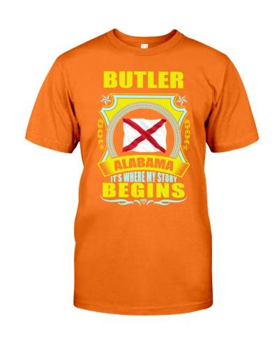 Butler-AL lover proud TShirt