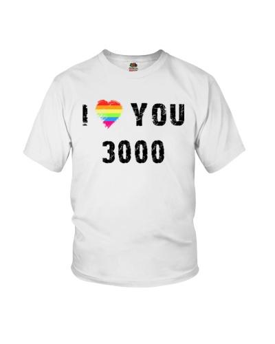 I Love You 3000 LGBT Funny Tshirts