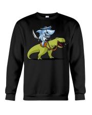 Funny Shark T-Shirts Crewneck Sweatshirt thumbnail