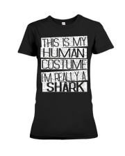 Gift for Shark Lovers Premium Fit Ladies Tee thumbnail