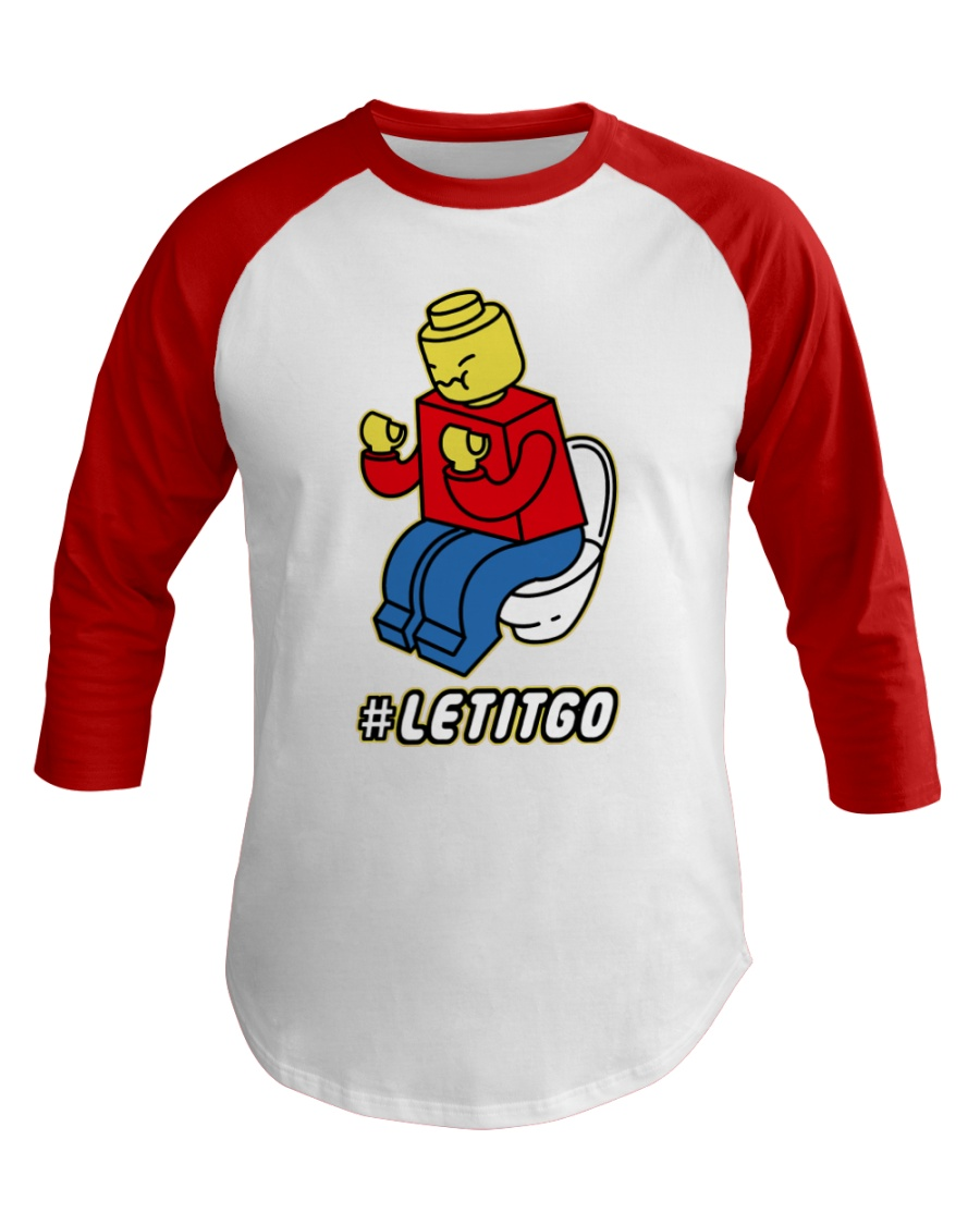 Let It Go Baseball Tee