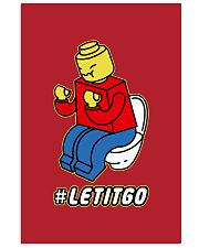 Let It Go Vertical Poster tile