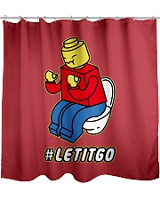 Let It Go Shower Curtain tile