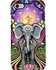 Elephant Trippy phone case Phone Case i-phone-8-case
