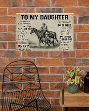 Daughter horse poster 24x16 Poster poster-landscape-24x16-lifestyle-24