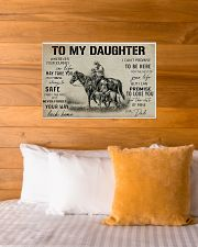 Daughter horse poster 24x16 Poster poster-landscape-24x16-lifestyle-27