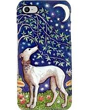 Greyhound moon Phone Case i-phone-8-case