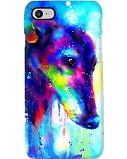 Greyhound water color phone case Phone Case i-phone-8-case