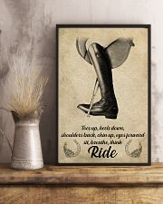 Riding horse poster 16x24 Poster lifestyle-poster-3