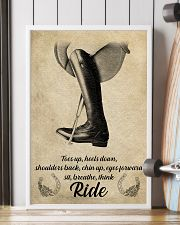 Riding horse poster 16x24 Poster lifestyle-poster-4
