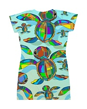Turtle Dress 6 All-over Dress back