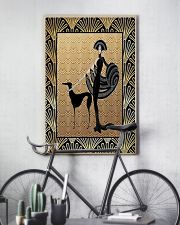 Greyhound with woman 11x17 Poster lifestyle-poster-7