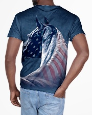 Horse america All-over T-Shirt aos-all-over-T-shirt-lifestyle-back-03