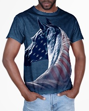 Horse america All-over T-Shirt aos-all-over-T-shirt-lifestyle-front-03