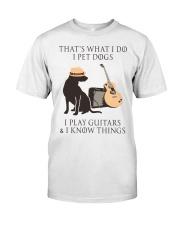 GUITAR and DOG Premium Fit Mens Tee thumbnail