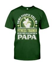 CALL ME FITNESS TRAINER PAPA JOB SHIRTS Classic T-Shirt thumbnail