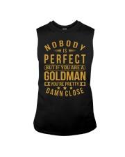 NOBODY PERFECT GOLDMAN NAME SHIRTS Sleeveless Tee thumbnail