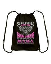 CALL ME FRAMING CARPENTER MAMA JOB SHIRTS Drawstring Bag thumbnail