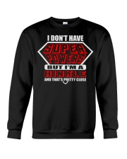 SUPER POWER HINKLE NAME SHIRTS Crewneck Sweatshirt thumbnail