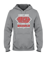 SUPER POWER HINKLE NAME SHIRTS Hooded Sweatshirt thumbnail
