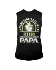 CALL ME FITTER PAPA JOB SHIRTS Sleeveless Tee thumbnail