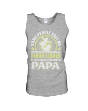 CALL ME FLOOR LEADER PAPA JOB SHIRTS Unisex Tank thumbnail
