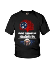 TENNESSEE WITH MINNESOTA ROOT SHIRTS Youth T-Shirt thumbnail