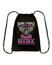 CALL ME FORMAN MAMA JOB SHIRTS Drawstring Bag thumbnail