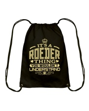 ROEDER THING GOLD SHIRTS Drawstring Bag thumbnail