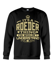 ROEDER THING GOLD SHIRTS Crewneck Sweatshirt thumbnail