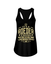 ROEDER THING GOLD SHIRTS Ladies Flowy Tank thumbnail