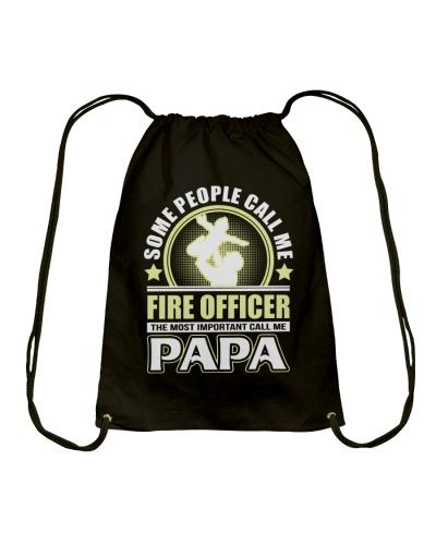 CALL ME FIRE OFFICER PAPA JOB SHIRTS