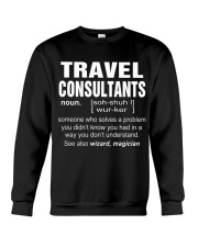 HOODIE TRAVEL CONSULTANTS Crewneck Sweatshirt thumbnail