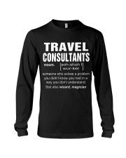 HOODIE TRAVEL CONSULTANTS Long Sleeve Tee thumbnail
