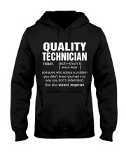 HOODIE QUALITY TECHNICIAN Hooded Sweatshirt thumbnail