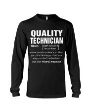 HOODIE QUALITY TECHNICIAN Long Sleeve Tee thumbnail