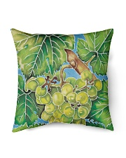 "barossa valley vines 1 Indoor Pillow - 18"" x 18"" back"
