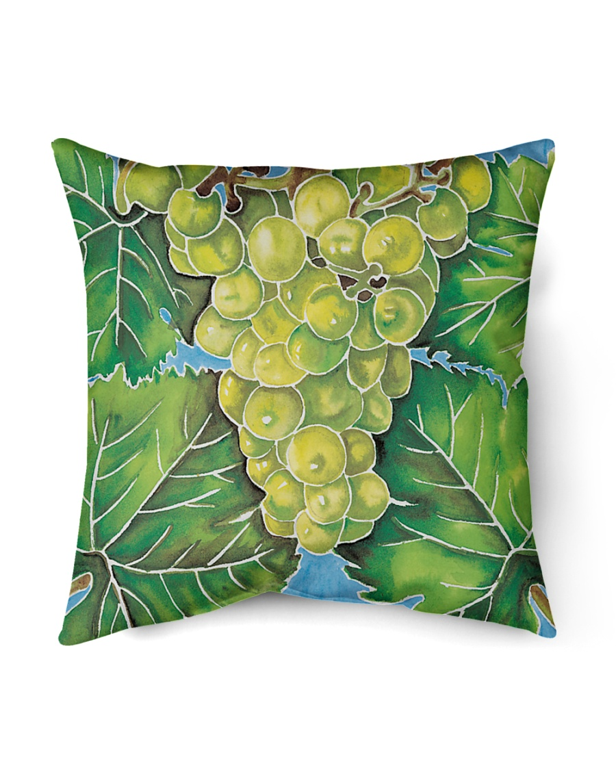 "barossa valley vines 1 Indoor Pillow - 18"" x 18"""