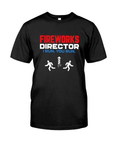 Fireworks Director I Run You Run