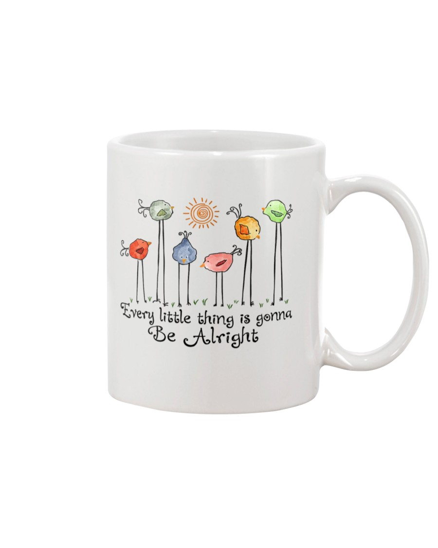 Every Little things will be alright peace Mug