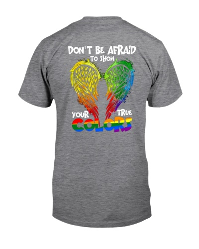 Don't be afraid to show your true color