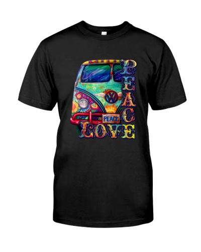 Peace Love Hippie Peace Art