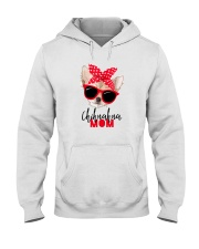 Chihuahua Mom Sunglasses Hooded Sweatshirt tile